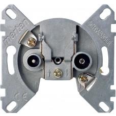 Механизм tv/fm, проходной, 2/10db Schneider Electric