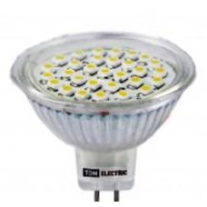 Светодиодная лампа MR16-5 Вт-12 В -3000 К–GU5.3 SMDTDM