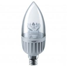 Светодиодная лампа NLL-C37-7-230-4K-E14-CL Navigator