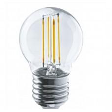 Светодиодная лампа Navigator NLL-F-G45-4-230-2.7K-E27