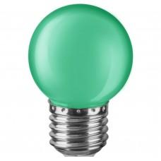 Светодиодная лампа NLL-G45-1-230-G-E27 Navigator