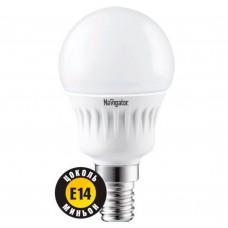 Светодиодная лампа NLL-G45-7-230-2.7K-E14 Navigator