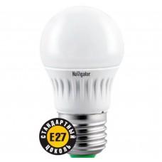 Светодиодная лампа NLL-G45-7-230-4K-E27 Navigator