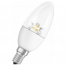 Светодиодная лампа PCLB40 5,8W/827 220-240V CL E14 Osram