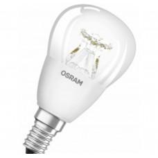 Светодиодная лампа PCLP40DIM 6W/827 220-240V CL E14 Osram