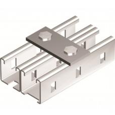 Пластина соединительная, длина 90 мм, 2отв., горячеоцинкованная DKC