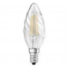 Светодиодная лампа PRFCLBW40 4W/827 220-240V FIL E14 Osram