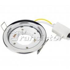 Светодиодная лампа Рамка GX53 106CC Хром Arlight