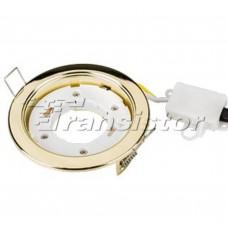 Светодиодная лампа Рамка GX53 106G Золотой