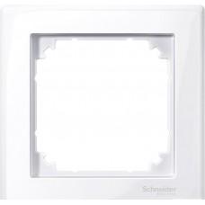 Рамка х1, ак.белый Schneider Electric