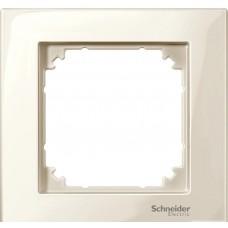 Рамка m-plan 1-местная.беж Schneider Electric