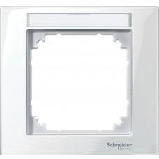 Рамка m-plan с полем для надписи, 1 пост Schneider Electric