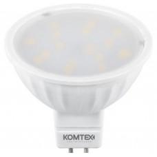 Светодиодная лампа СДЛп-MR16-5-220-830-120-GU5.3 КОМТЕХ