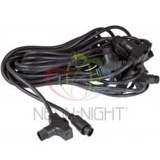 Шнур питания NEON-NIGHT (10метров, 10 подключений) 256-150