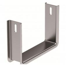 Скоба нижняя BMS-10 (100-500) DKC BMS1010HDZ Оцинкованная сталь