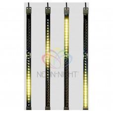 Сосулька светодиодная 50 см, 9,5V, двухсторонняя, 32х2 светодиодов NEON-NIGHT