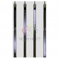 Сосулька светодиодная NEON-NIGHT 50 см, 9,5V, двухсторонняя, 32х2 светодиодов 256-125