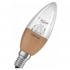 Светодиодная лампа SSTBGOLD40D 6W/827 230V CL E14 Osram