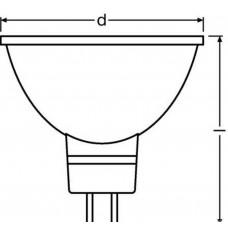 Светодиодная лампа LED STAR MR1650 110 5,3W/840 230V GU5.3 Osram