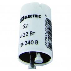 Стартер TDM S2 4-22Вт 110-240В мед. контакты