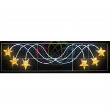 Световое панно NEON-NIGHT Брызги звезд 400*100см 501-361