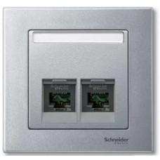 Ц. плата для двух соед. мод-й, 2 поста Schneider Electric