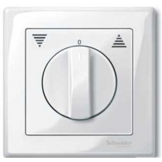Центр.плата д/мех.кноп.выкл.с фикф-м бел Schneider Electric
