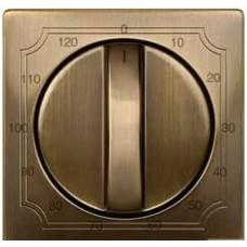 Центр.плата таймера 120 мин, антич.латунь Schneider Electric