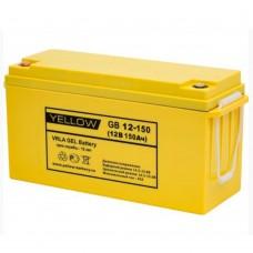 Аккумулятор Yellow GB 12-150