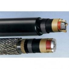 Кабель силовой с бумажной пропитанной изоляцией ААБл-10 3х150