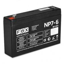 Аккумулятор FOX NP7-6