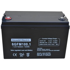 Аккумулятор Gewald Electric 6GFM100