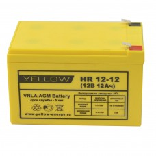 Аккумулятор Yellow HR 12-12