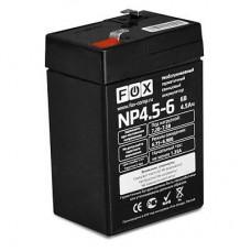 Аккумулятор FOX NP4.5-6