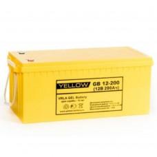 Аккумулятор Yellow GB 12-200