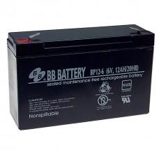 Аккумулятор BB Battery BP12-6