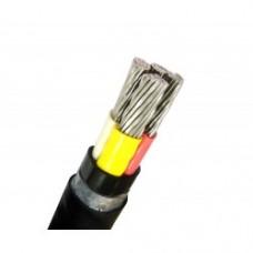 Кабель силовой с изоляцией из сшитого полиэтилена АПвВГ 3х50+1х25