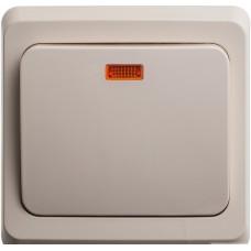 1-клавишный переключ. с подсв. (сх.6) Schneider Electric