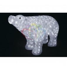 Акриловая фигура NEON-NIGHT Белый медведь 80*55 см 513-302