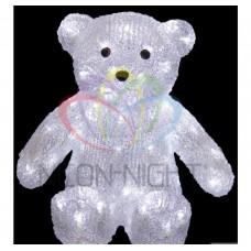 Акриловая фигура NEON-NIGHT Медвежонок 30 см, 80 белых светодиодов 513-268