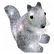 Акриловая светодиодная фигура NEON-NIGHT Белка, 18 см, на батарейках, 12 светодиодов 513-341