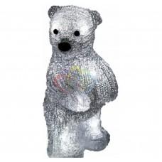Акриловая светодиодная фигура NEON-NIGHT Медвежонок 22 см, на батарейках, 10 светодиодов 513-311