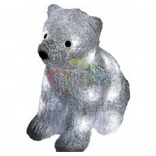 Акриловая светодиодная фигура NEON-NIGHT Медвежонок, 29 см, на батарейках, 20 светодиодов 513-313