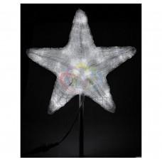 Акриловая светодиодная фигура NEON-NIGHT Звезда 30см, 45 светодиодов, белая, 4,6В 513-435