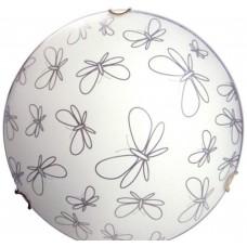 Бабочки 300 НПБ 01-60-125 М02 матовый белый /кл.зол. ИУ свет-к ЭЛЕТЕХ