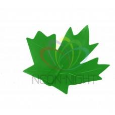 CC-1 колпачек кленовый лист NEON-NIGHT (для дюраплей) зеленый CC-1-13