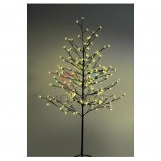 """Дерево комн. """"Сакура"""", корич.ствол и ветки, выс.1.5 метра, 120 свет-в желт.цв., трансф-р IP44 NEON-NIGHT"""