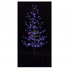Дерево комнатное NEON-NIGHT Сакура,ствол и ветки фольга, выс.1.5 м, 120 свет-в син. цвета, тран-р IP44 531-273