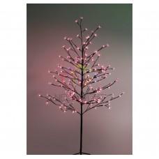 Дерево комнатное NEON-NIGHT Сакура, коричневый цвет ствола и веток, высота 1.5 метра 531-262