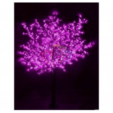Дерево САКУРА NEON-NIGHT (CBL-03 ( А ) D=3.0m, H=3.6m), 6921 диодов, ФИОЛЕТОВЫЙ 531-236